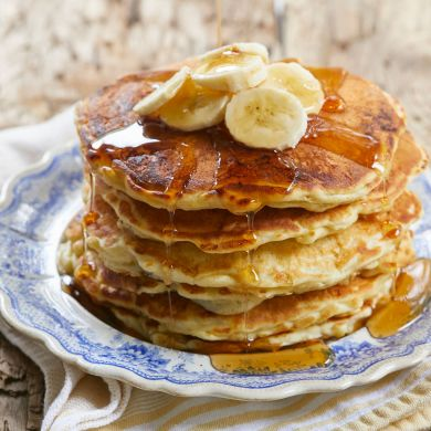 How to Make the Fluffiest Banana Pancakes