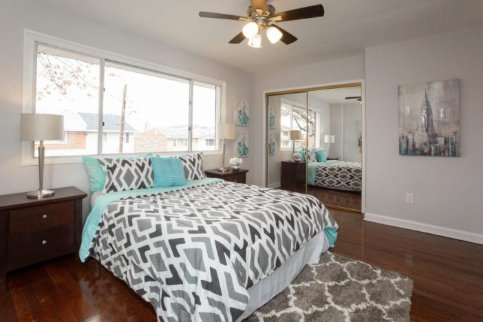 After renovation and Staging: Bedroom