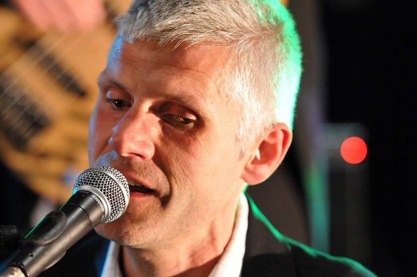 Pianist Zanger Bert Louissen