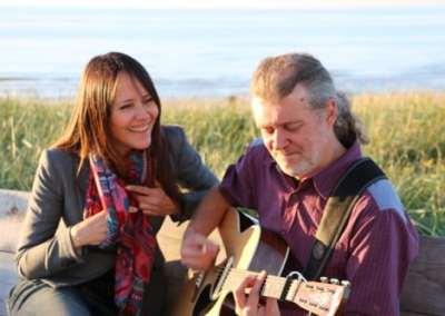Duo Axel en Anneke (easy pop en Jazz)