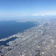 Erster Blick auf Tokio