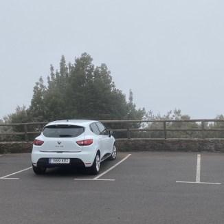 Aussicht vom Parkplatz