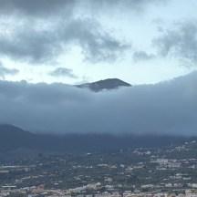 Teide, Blick vom Appartement