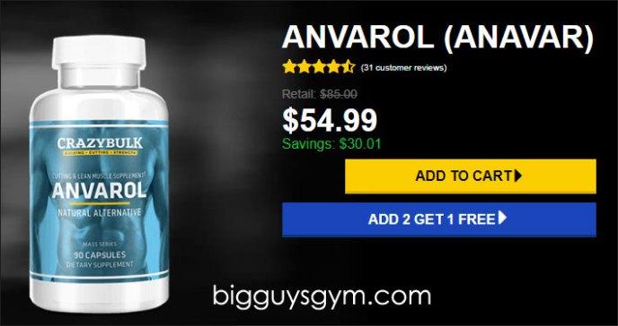 Order Anvarol from official website