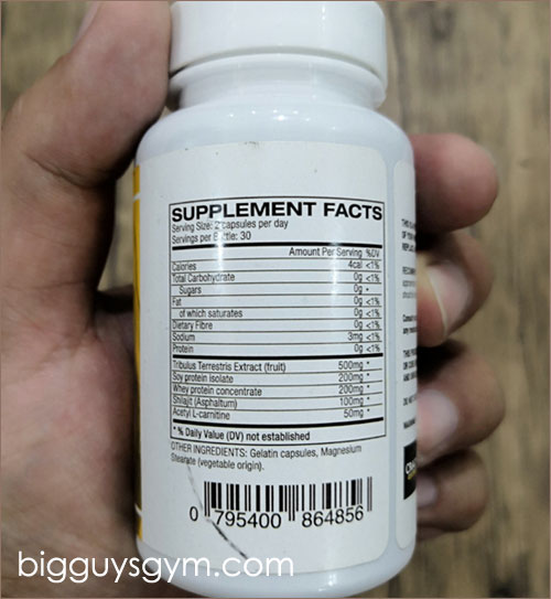 Ingredients in Anadrole