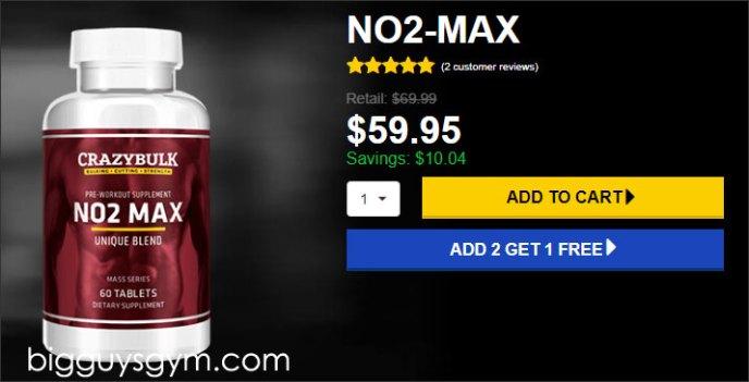 No2 Max for sale