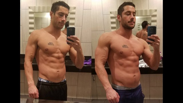 Steroid before and after cycle results