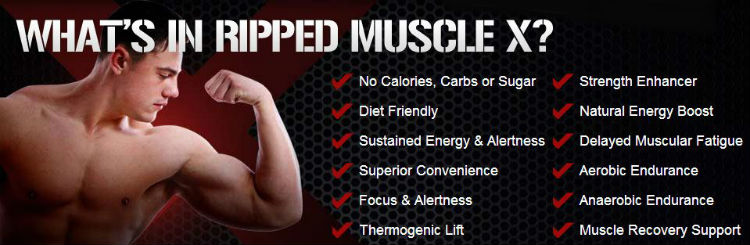 Ripped Muscle X Ingredients