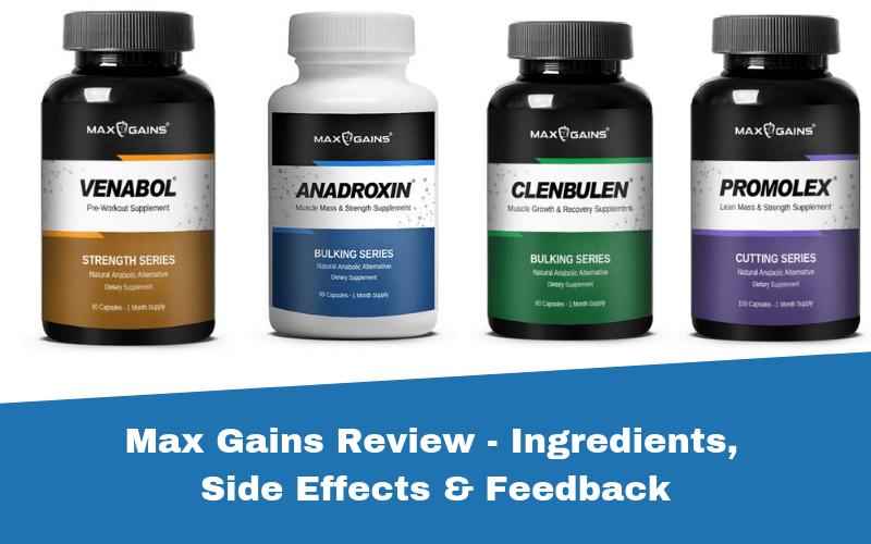 Max Gains anabolic alternatives