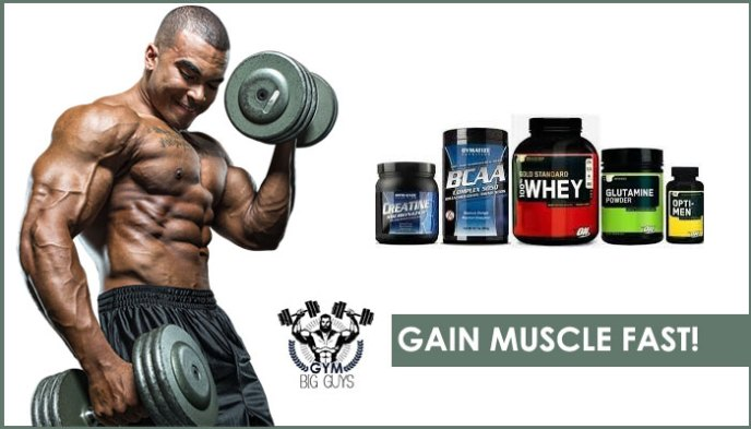 The 6 Best Supplements to Gain Muscle