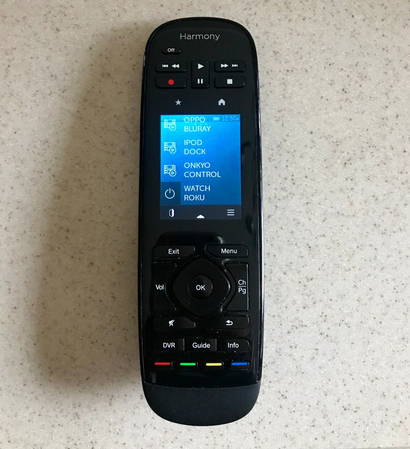 Harmony Remote Set For Roku