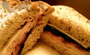 Politics & Prose Turkey, Swiss & Cranberry Sandwich