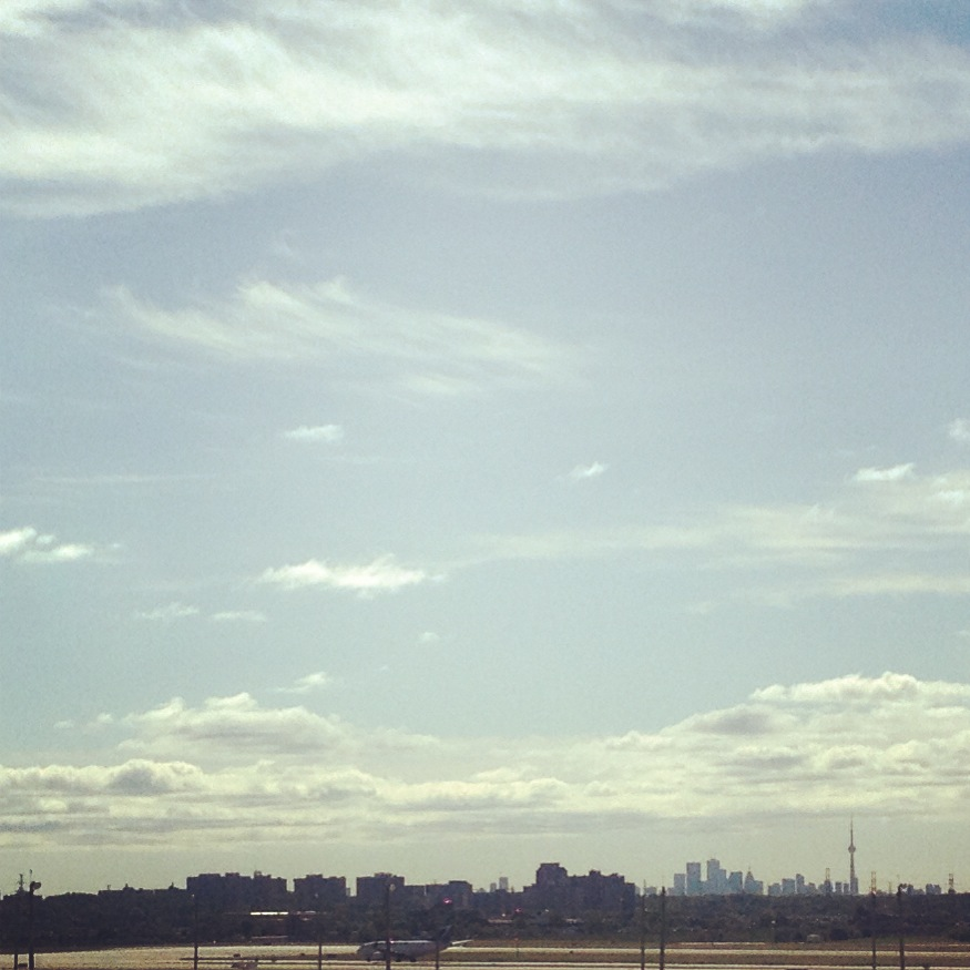 Downtown Toronto in the Distance