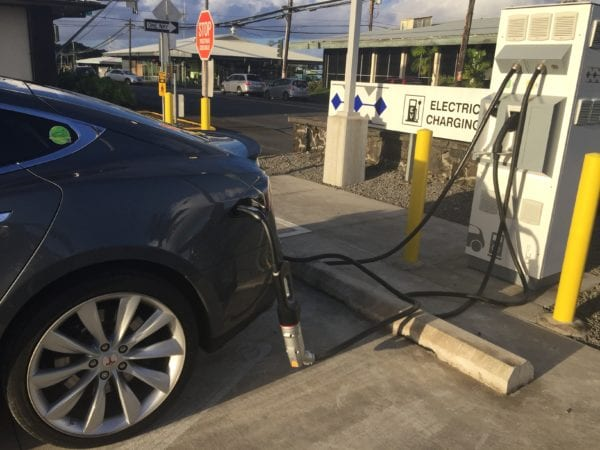 Dc fast charger tesla