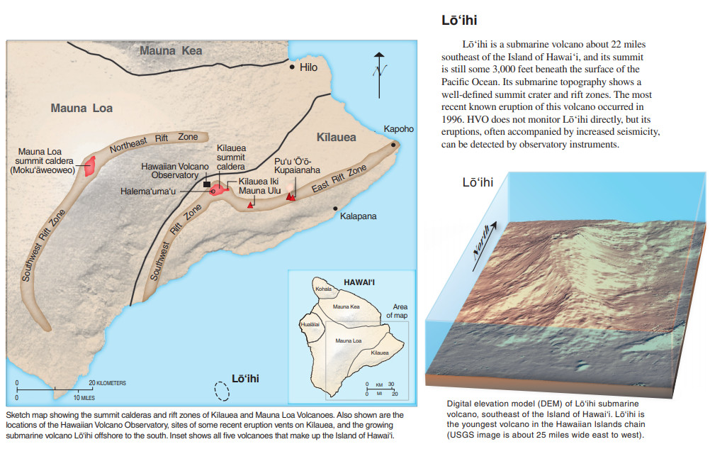 Hawaii, constituent state of the united states of america. Lōʻihi Earthquake Activity Statement Issued By USGS HVO