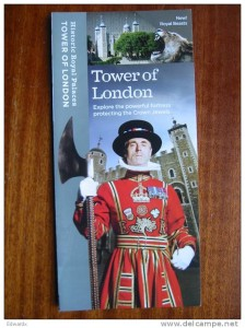 Tower of London brochure
