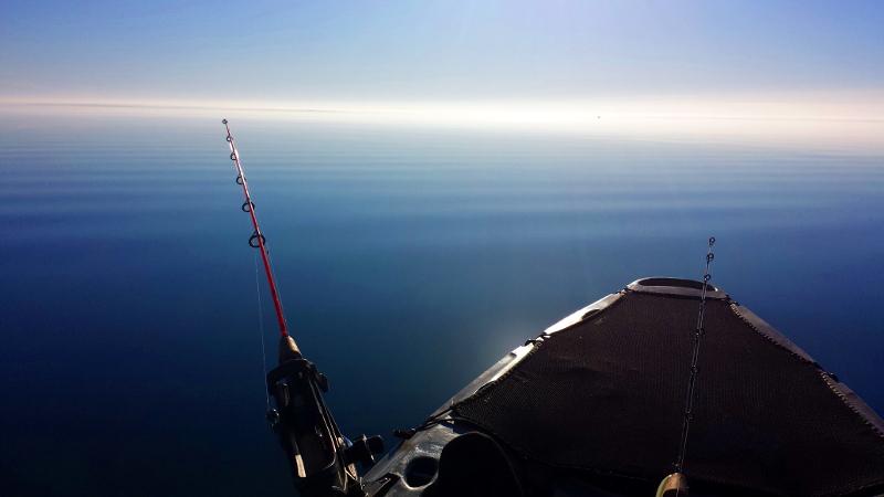 lake superior kayak fishing