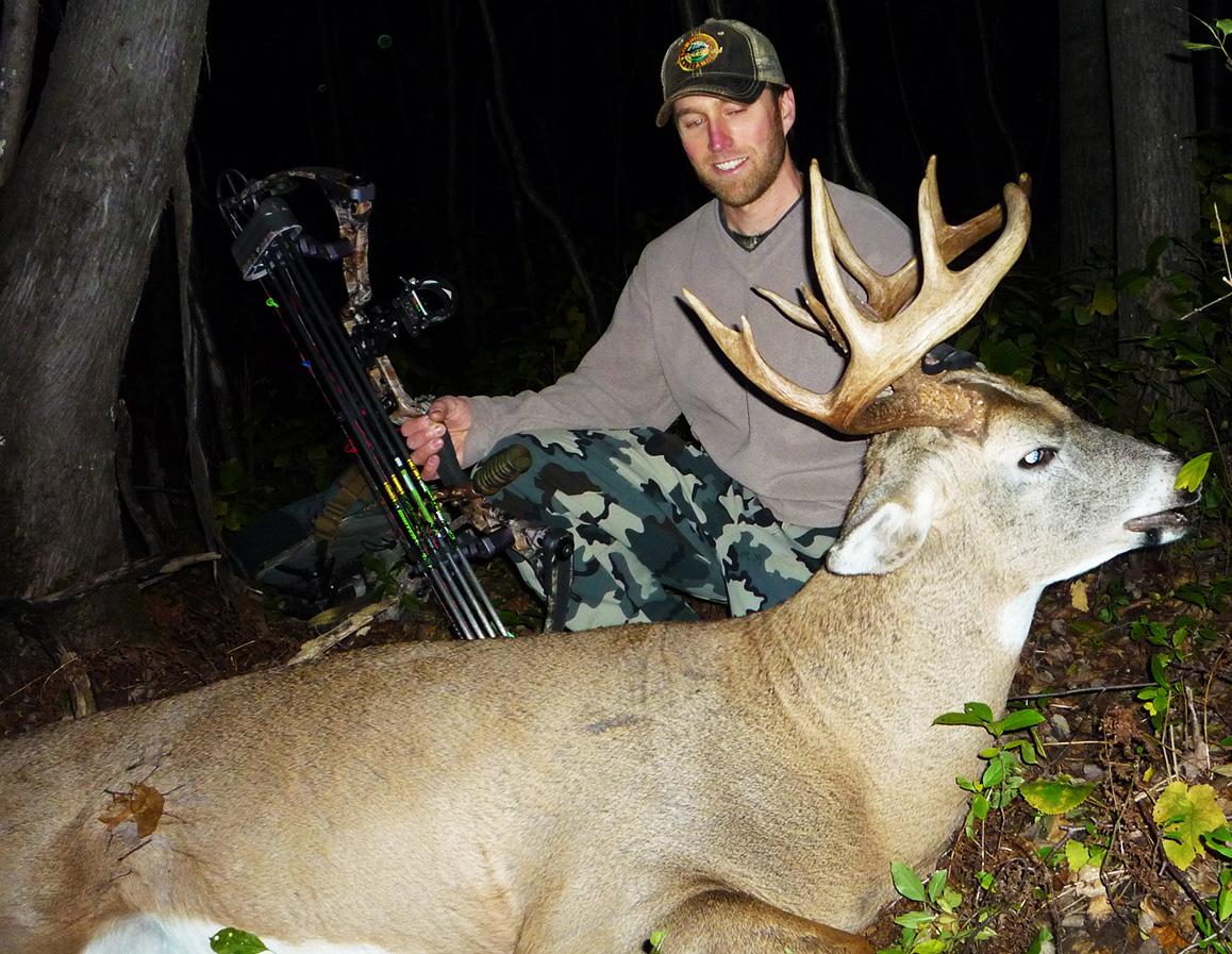 Minnesota Bowhunting Buck