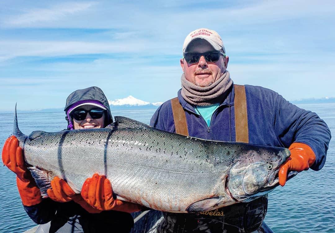 King Salmon Fishing Lower Cook Inlet