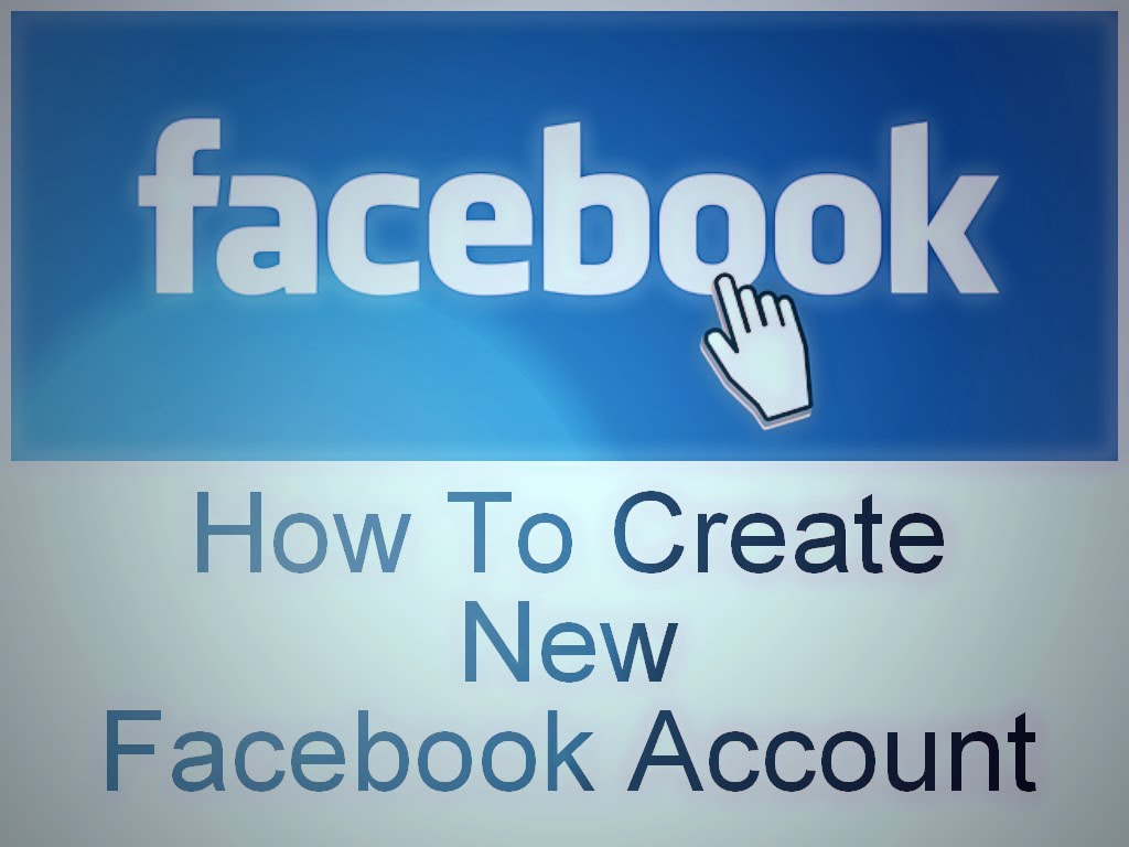 Facebook New Account New Create