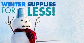 Winter Weather Supplies