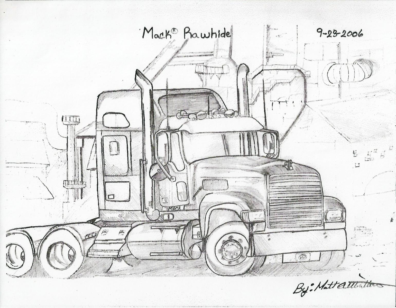 Mack Truck Art