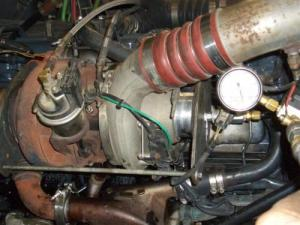 2003 Mack 427 Oil Coming From Blowby Tube  Engine and