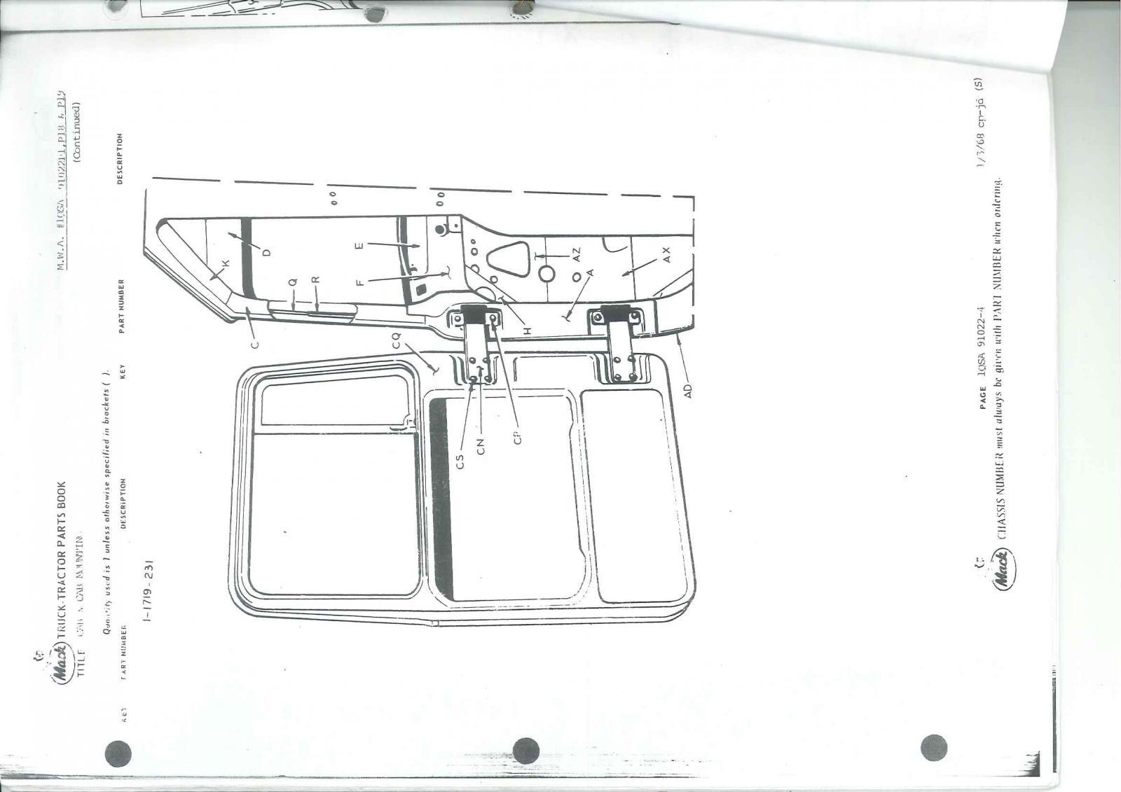 Mack Rw Superliner Scale Model