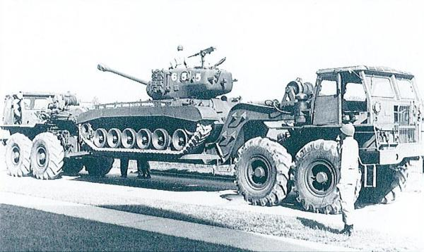 Mack Military - T8 Series Doubled-Ended 8x8 Tank ...