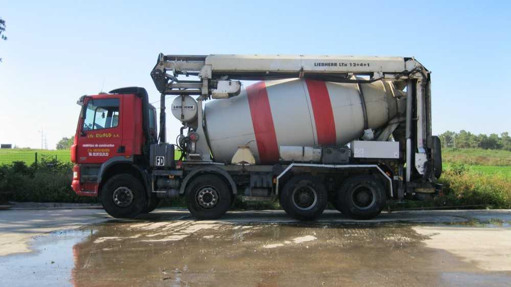 livraison beton ruaud materiaux