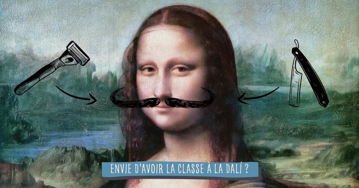 Comment avoir une moustache à la Dalí