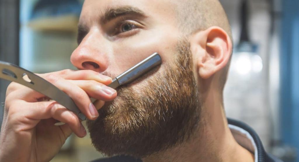 rasoir de barbier big moustache