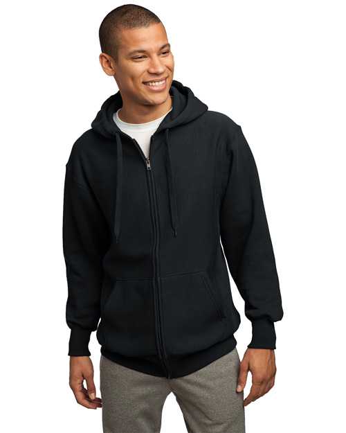 Sport-Tek Mens Super Heavy Weight Pullover Full Zip Hoodie SweatShirt