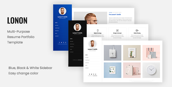 Download our portfolio presentation templates for google slides and powerpoint to showcase your work and reach success! Free Download Lonon Resume Portfolio Template Nulled Latest Version Bignulled