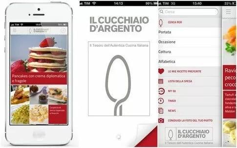 App Per Food Lover Il Celebre Cucchiaio Dargento Diventa
