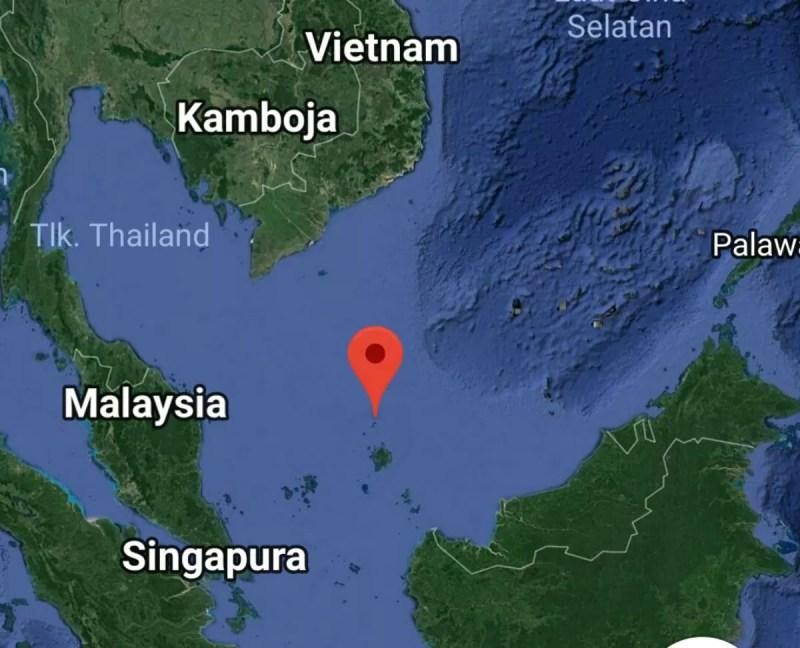 Villaggio indonesiano Pulau Pandan