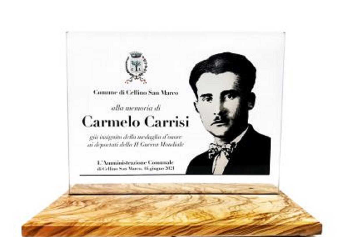 Al Bano: Cellino San Marco, delivered the plaque in memory of his father Carmelo