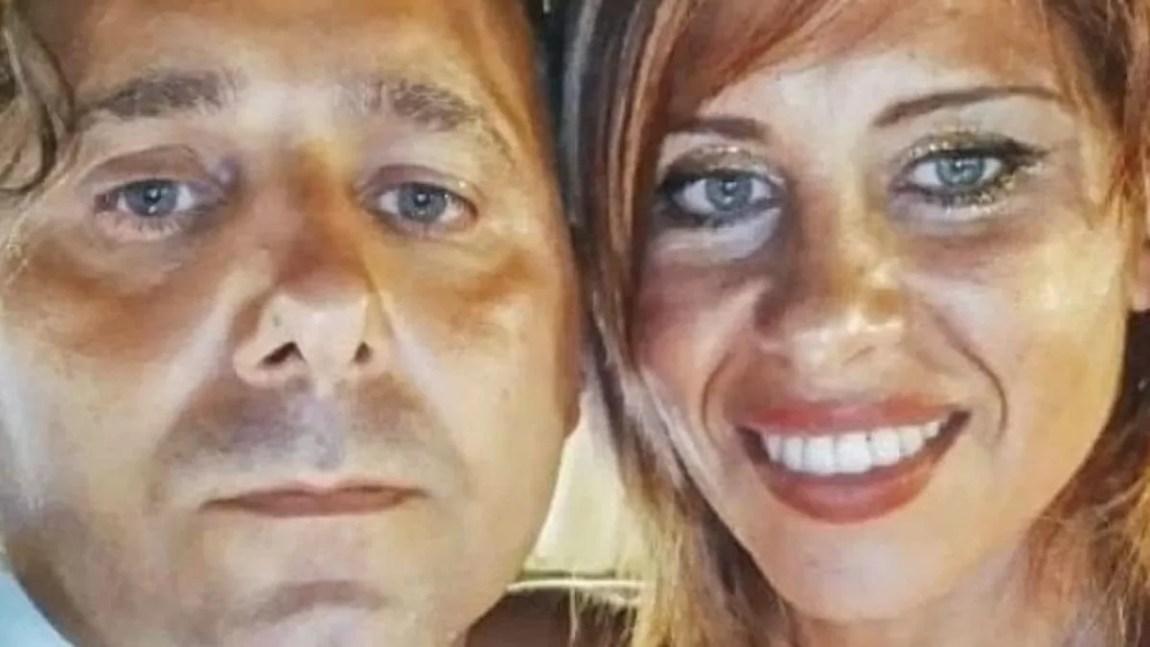 The bodies of Viviana Parisi and Gioele Mondello