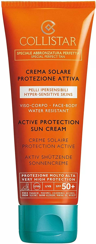 Active Protection Sun Cream for Hypersensitive Skin Collistar