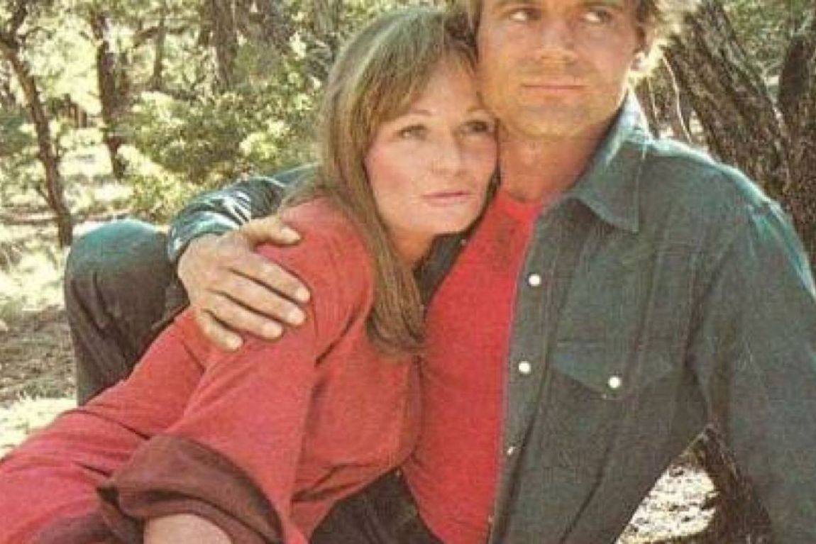 Terence Hill with his wife