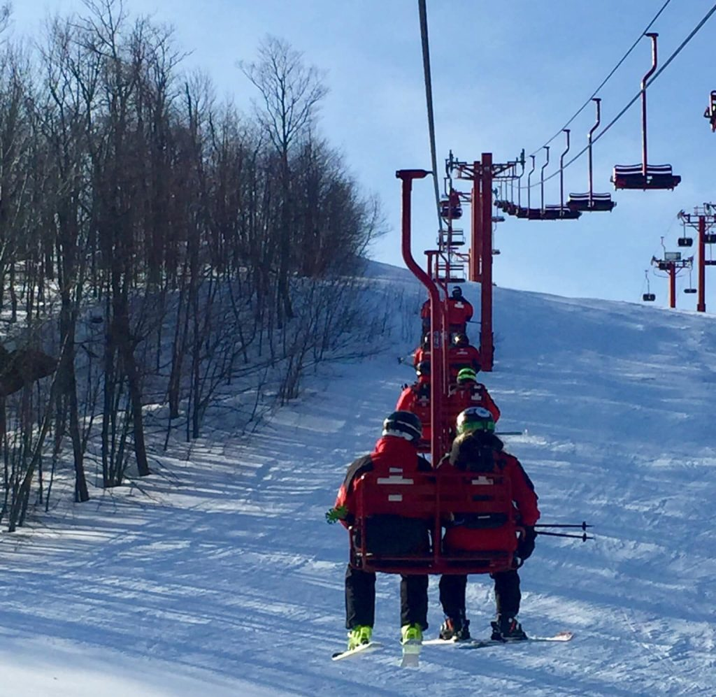 Big Powderhorn Ski Patrol Training