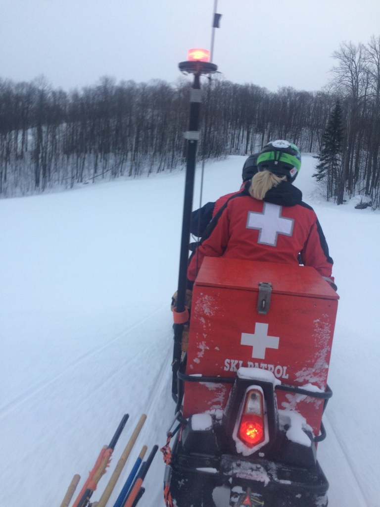 BPM Ski Patrol Snowmobile Operations