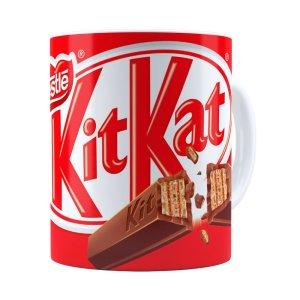 Caneca Chocolate Kitkat Branca
