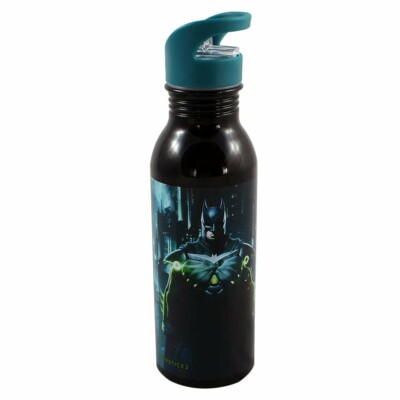Garrafa Injustice Batman 600ml Aluminio