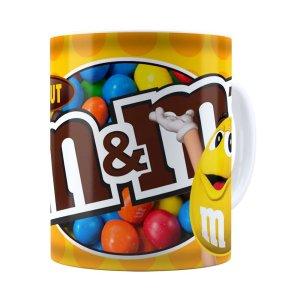 Caneca Chocolate MMs Peanut Branca