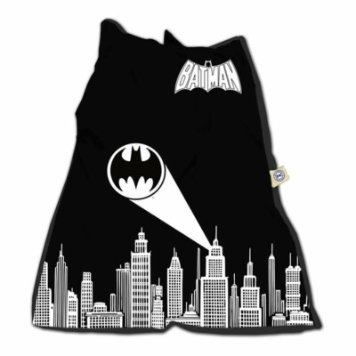 Capa De Almofada Batman Gottam City Sign 115x90cm