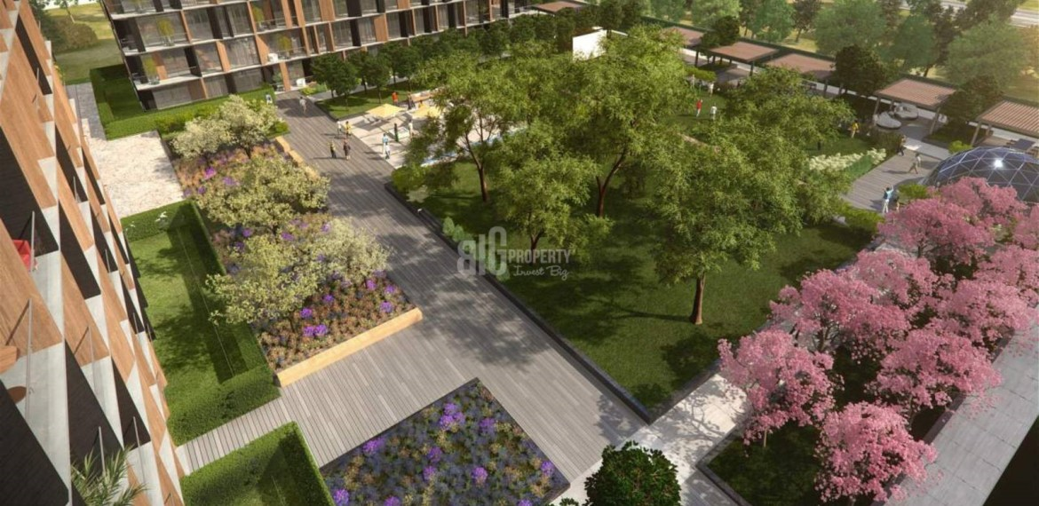 Big flats for sale near to highway in Güneşli İstanbul