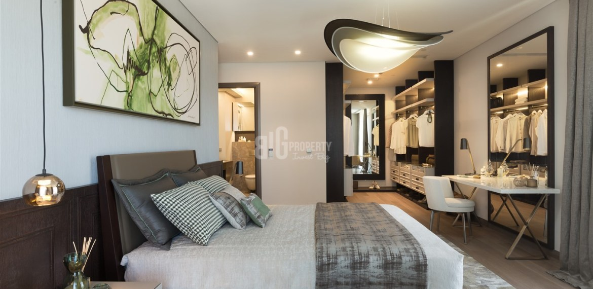 Deluxe flats for sale with wonderful sea view in Istanbul Zeytinburnu