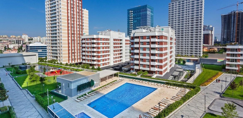 Family apartment for sale in güneşli istanbul