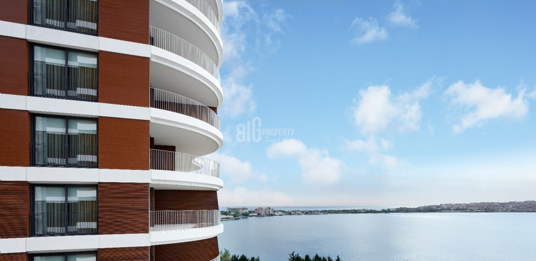 In front of canal istanbul flats for sale in istanbul küçükçekmece